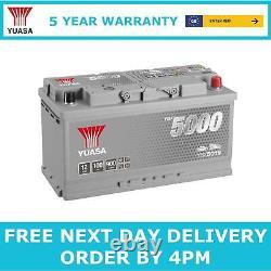 019 Yuasa YBX5019 Silver High Performance Car Battery 12V 100Ah 900A