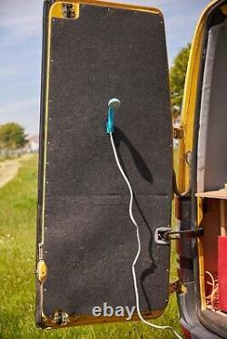2007 Mercedes Sprinter LWB camper van overland toilet shower 3 belts off grid