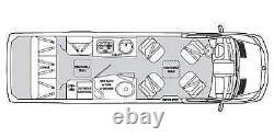 2013 Airstream Interstate 3500 EXT Lounge Mercedes Benz Sprinter Class B CLEAN