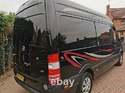 2014 Mercedes-Benz sprinter 313 cdi w906 crew cab van panel van ideal camper