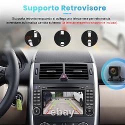 7 2Din Per Mercedes Benz Sprinter B200 W245 B170 W169 Autoradio DVD GPS Navi