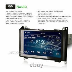 9 Car Radio GPS Mercedes A/B Class W169 Sprinter Vito Viano W639 Stereo SatNav