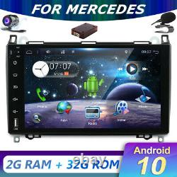9Android10 Sat Nav For Mercedes A/B Class Viano Vito Sprinter W639 Stereo DAB