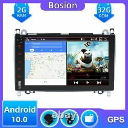 Autoradio GPS Navi Für Mercedes Benz W639/Vito/Viano /W906 Sprinter/W169/W245 BT