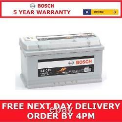 Bosch Car Battery UK Ref 019 12V 100Ah Bosch Code S5013 5 Yr Gty Next Day
