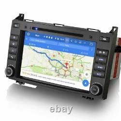 Car Radio For Mercedes Sprinter W639 Android 10.0 Stereo DAB SatNav GPS WiFi 7