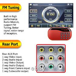Double 2 DIN HD 6.2INCH Touch Screen Car DVD Player Stereo Radio + Backup Camera