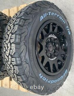 EVO Corse DakarZero 16 Mercedes-Benz Sprinter Alloy Wheels & BFG Tyres x4
