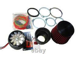 Fit For Mercedes Benz Performance Electric Air Intake Supercharger Fan Motor Kit