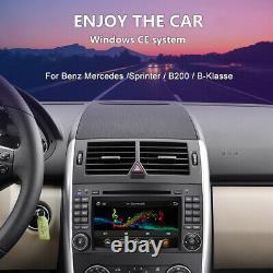 For Mercedes Benz A B Class Vito Viano Sprinter Car GPS Radio DVD Stereo Sat Nav
