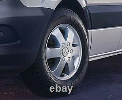 Genuine Mercedes-Benz Sprinter Set of 16 Alloy Wheels & Full Mounting Kit
