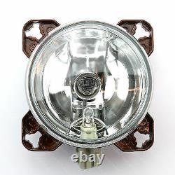 HELLA 90mm Headlamps/headlights Dipped/Main/Beam/Sidelight Kitcar/Hotrod/Custom