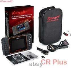 ICarsoft CR Plus Elite 2020 Scanner Motor ABS Airbag Getriebe OBD 2 Öl Service