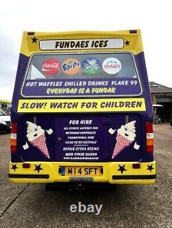 Ice Cream Van for sale LWB Mercedes Sprinter (2003)