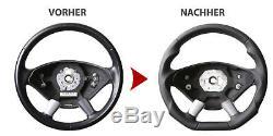 Lenkrad Mercedes W639 Vito Viano W906 Sprinter Neu Beziehen Abgeflacht 156055