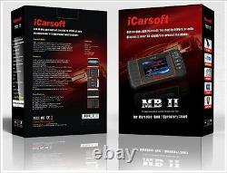 MERCEDES BENZ SPRINTER Diagnostic Scanner Tool SRS ABS ENGINE iCarsoft MBII i980