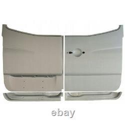 MERCEDES SPRINTER VW CRAFTER 2006- 4x REAR DOOR HIGH REPAIR PANEL INNER + OUTER