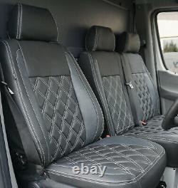 Mercedes Benz Sprinter Tailored Waterproof Diamond Seat Covers 2nd Gen