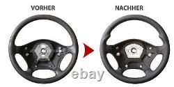 Mercedes Lenkrad W639 Vito Viano W906 Sprinter Daumenauflagen Neu Beziehen 55182