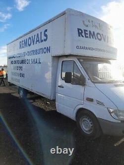 Mercedes Sprinter 311 CDI Luton Box Van with Tail Lift