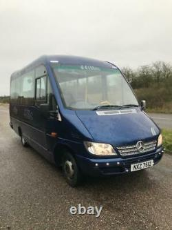 Mercedes Sprinter 413cdi, Plaxton pronto 16 seater minibus, power door