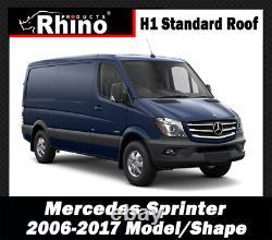 Mercedes Sprinter Towbar Van Step Rear Towing Rhino TowStep Duo BLACK 2006-2020