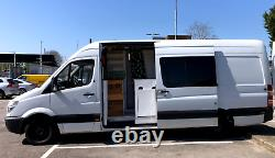 Mercedes Sprinter XLWB Campervan 2010 Cosy, Quirky and built Solid as a Rock