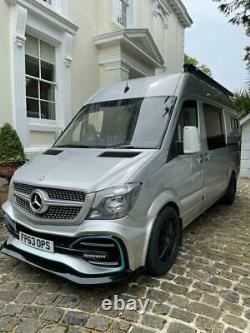 Mercedes sprinter MWB off grid campervan