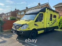 Mercedes sprinter ex-ambulance/camper/motorhome AUTO