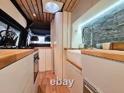 OFF GRID Campervan conversion, Mercedes Sprinter LWB 66 plate