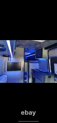 Sprinter MotorHome / race van every optional extra including 8 grand of audio