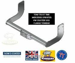 Towbar for Mercedes Sprinter Van 2006 to 2018 MWB/LWB Van with Step (SRW) TT TM6