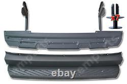 VW Crafter Rear Back Metal Step Plus Plastic Cover 2006 2017 With Plugs