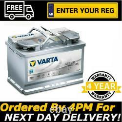 Varta E39 AGM Stop Start Car Battery (570 901 076) (096) 12V 70Ah
