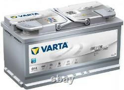 Varta G14 AGM Car Battery 12V Silver Dynamic 4 Yr Warranty Type 019