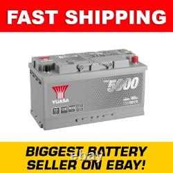 YBX5019 Yuasa Silver High Performance Car Battery 12V 100Ah HSB019