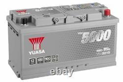 019 Yuasa Ybx5019 Silver High Performance Voiture Batterie 12v 100ah 900a