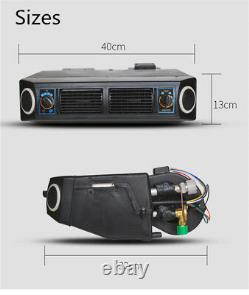 12v Durable A / C Kit Universel Sous Dash Évaporateur Kit Climatiseur 3 Vitesse
