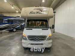 2016 Four Winds 24fs Mercedes Benz Sprinter Classe C Rv Caravane 27k Miles