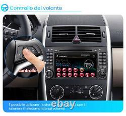 7 2din Par Mercedes Benz Sprinter B200 W245 B170 W169 Autoradio DVD Gps Navi