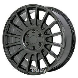 8x20 Jbw Tms Gloss Black Alloy Wheels+tyres Fits 6 Stud Mercedes Sprinter Set 4