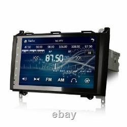 9 Bt Gps Sat Nav Lecteur De Radio De Voiture Stéréo Pour Vw Crafter Mercedes Sprinter W639