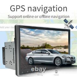 9 Double 2 Din Android 9.1 Voiture Stéréo Dab Radio Gps Sat Nav Wifi Mirror Link Bt
