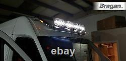 Ajuster 14-18 Mercedes Sprinter Inoxydable Chrome Avant Moyenne Toit Surélevé Light Bar