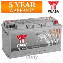 Batterie De Voiture Ybx5019 Calcium Silver Case Smf Soci 12v 900cca 100ah T1 Par Yuasa