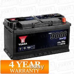 Batterie De Voiture Ybx9019 Agm Stop Start Plus 12v 850cca 95ah T1 Terminal Par Yuasa