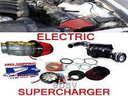 Convient Pour Mercedes Benz Performance Électric Air Intake Supercharger Fan Motor Kit