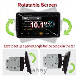 Double Din Android 8.1 10.1'' Voiture Stereo Radio Mp5 Player Gps Wifi 3g 4g Bt Dab