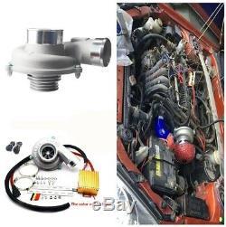 Électrique Turbo Supercharger Kit Turbocompresseur Filtre À Air D'admission Pour Voiture 12v Vélo