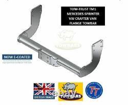 Flange Towbar Pour Mercedes Sprinter Van 20062018 Swb, Mwb, Lwb Sans Pas Tm1